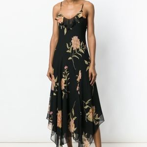 Polo Ralph Lauren floral handkerchief maxi dress